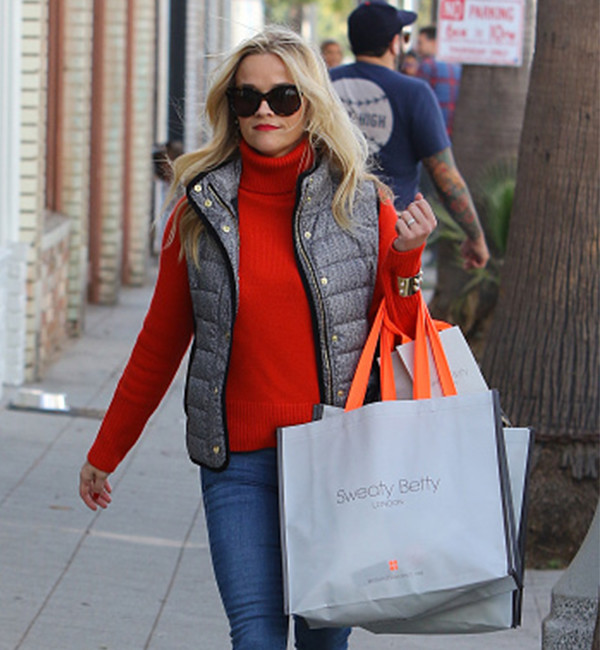 Reese Witherspoon in Sweaty Betty