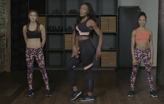 sweaty betty Bum-Sculpting workout