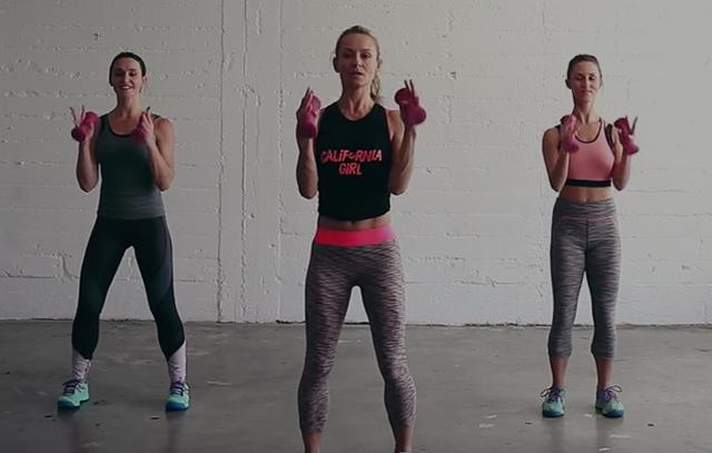sweaty betty dance cardio workout