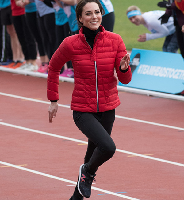 Kate Middleton in Sweaty Betty