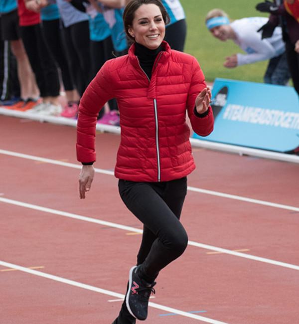 Kate Middleton in Sweaty Betty