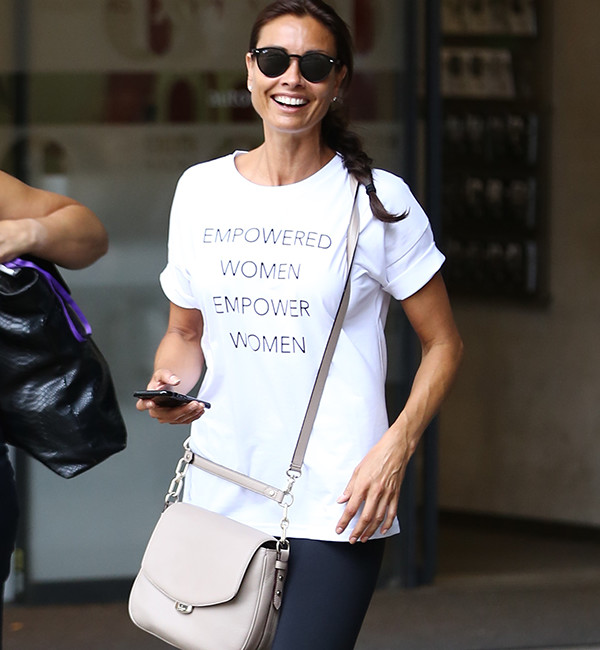 Melanie Sykes in Sweaty Betty