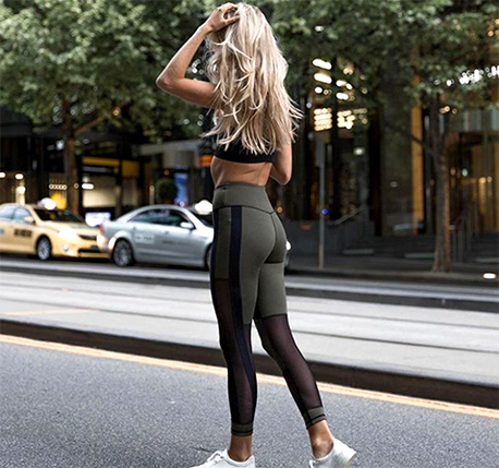 The reversible leggings to conquer inversions