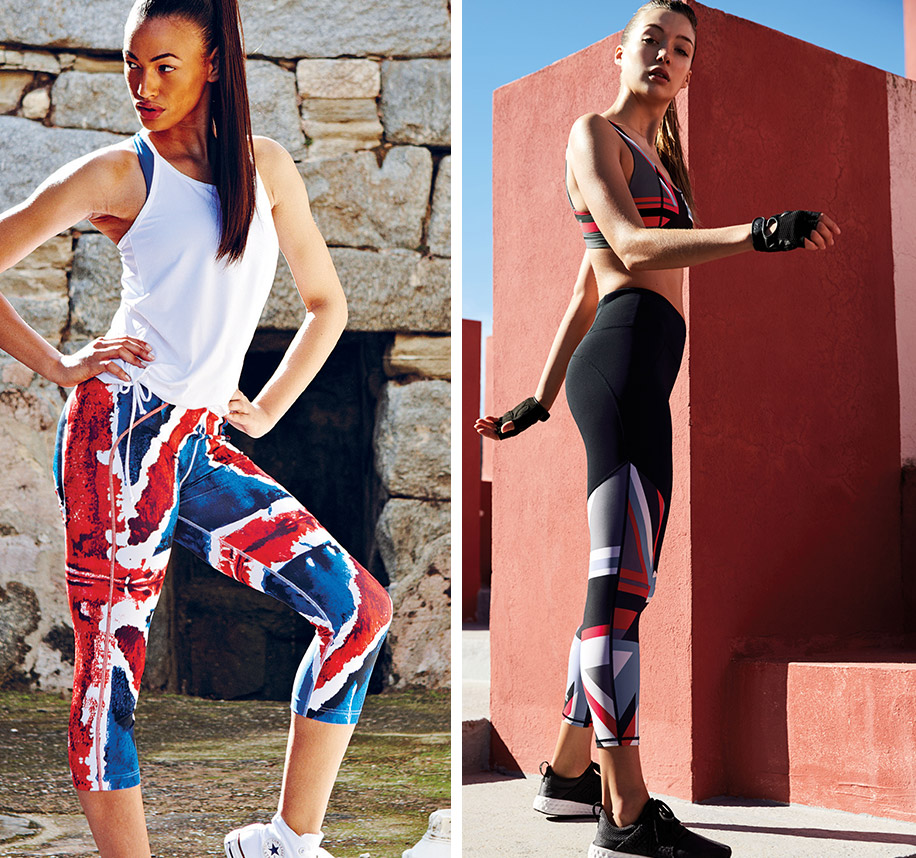 Sweaty Betty Turns 20: The Story Behind The Union Jack Print