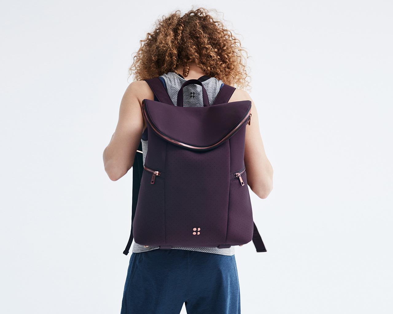 sweaty betty stylish gym bags