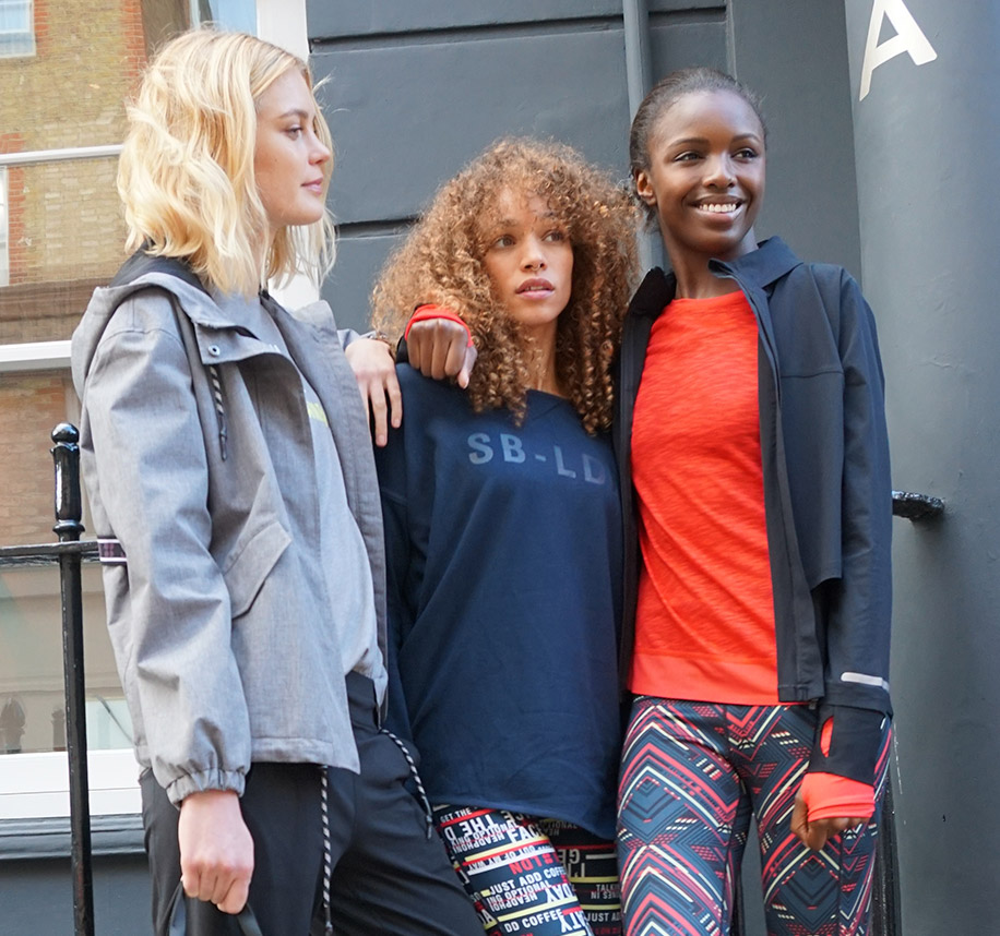 Meet the models: the london girls