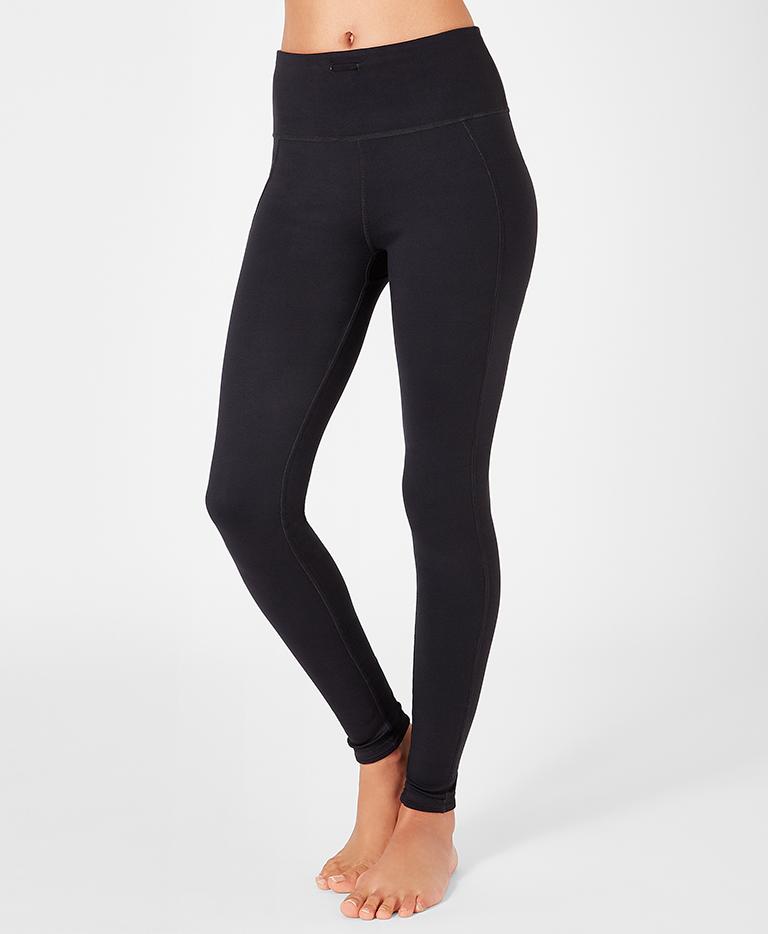 d6f956ad7c282 Reversible Yoga Leggings - Aubergine Geo Floral | Women's Leggings ...